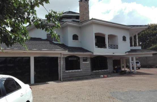 5bedroom residential house for sale Kshs.180000000 situated within the quiet, serene and affluent Old Muthaiga Estate