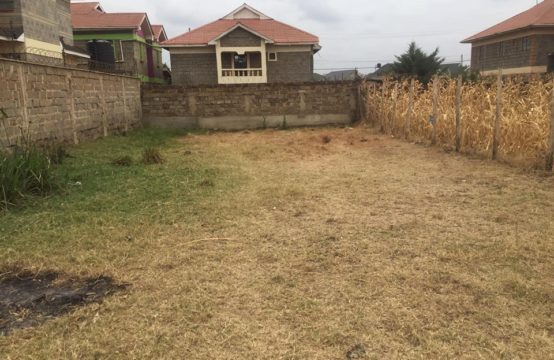 40 BY 80 RESIDENTIAL PLOT. MEMBLEY PARK ESTATE, OFF EASTERN BYPASS
